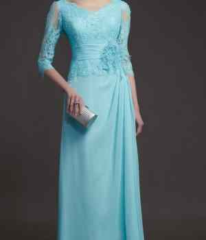 Lace-Long-Sleeve-Evening-Dress